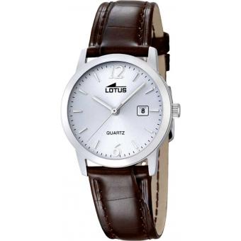 Montre Lotus L18240-3 - Montre Dateur Marron Femme