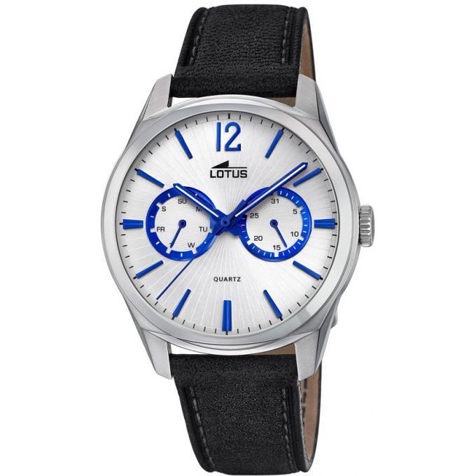 montre lotus multifonction l18374 2 montre aiguilles bleue dateur homme sur bijourama montre. Black Bedroom Furniture Sets. Home Design Ideas