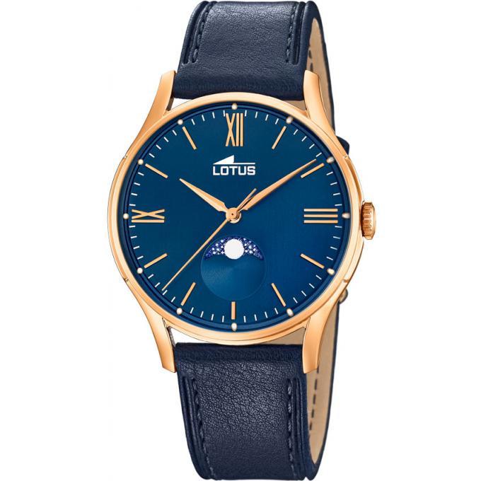 montre lotus retro l18428 2 montre analogique cuir bleu homme sur bijourama montre homme pas. Black Bedroom Furniture Sets. Home Design Ideas