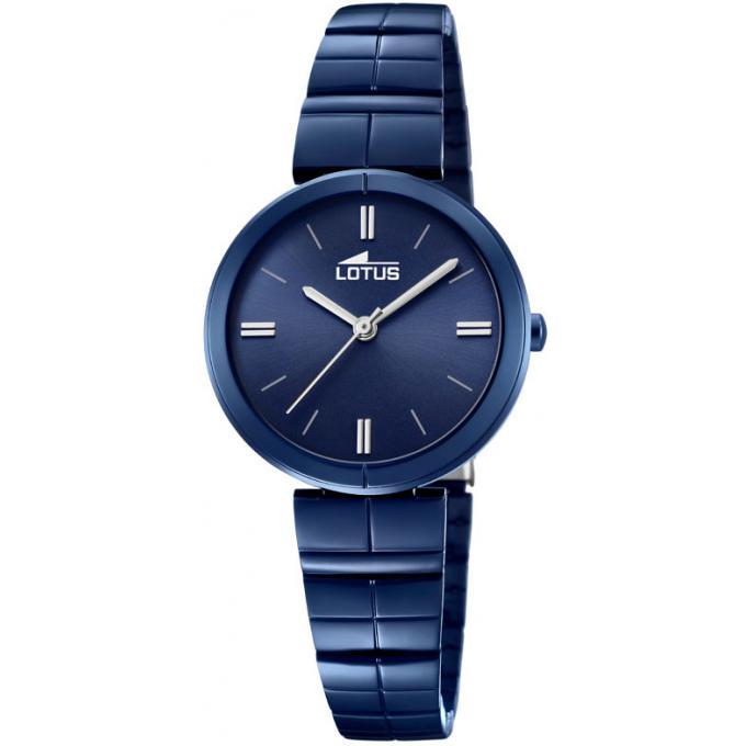 montre lotus trendy l18432 1 montre acier bleue femme sur bijourama montre femme pas cher en. Black Bedroom Furniture Sets. Home Design Ideas