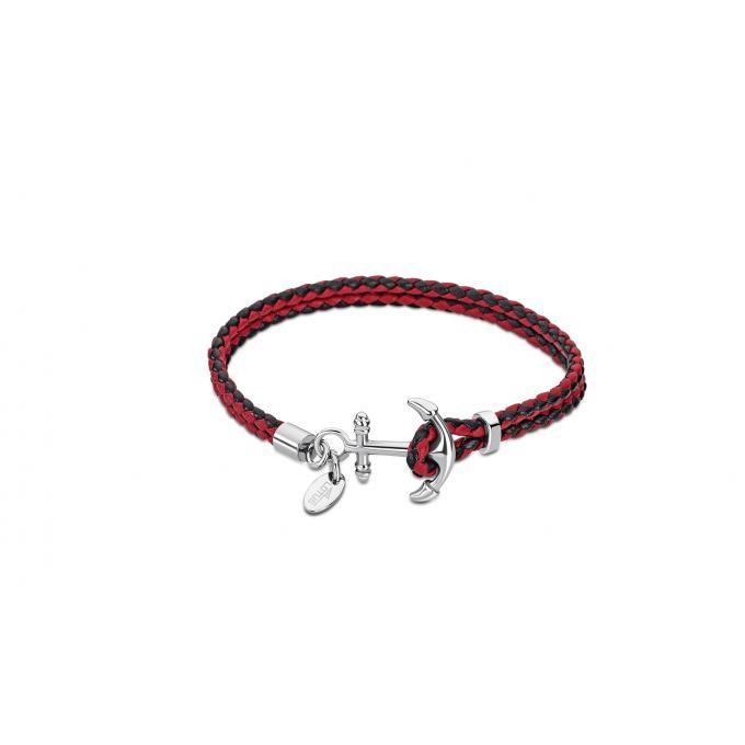 bracelet homme ancre cordon