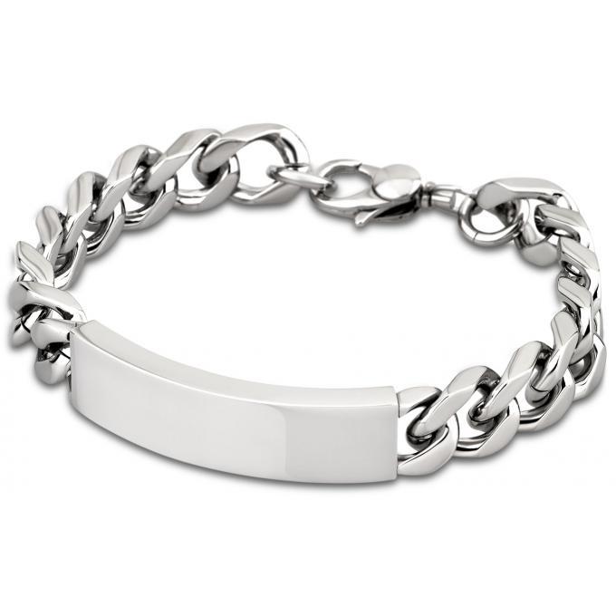 bracelet men in black ls1554 2 1 bracelet acier gourmette homme sur bijourama r f rence des. Black Bedroom Furniture Sets. Home Design Ideas