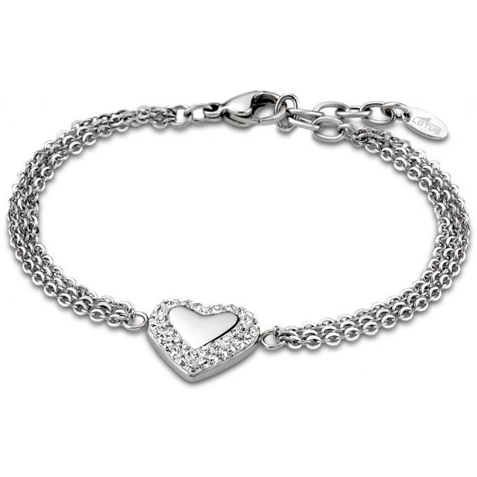 Lotus Style Bijoux , Bracelet Women\u0027S Heart LS1768,2,1 , Bijoux Lotus Style