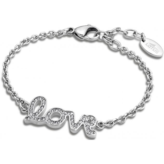 Bracelet Lotus Style LS1662,2,1 , Bracelet Chaîne Argenté Stylé Femme