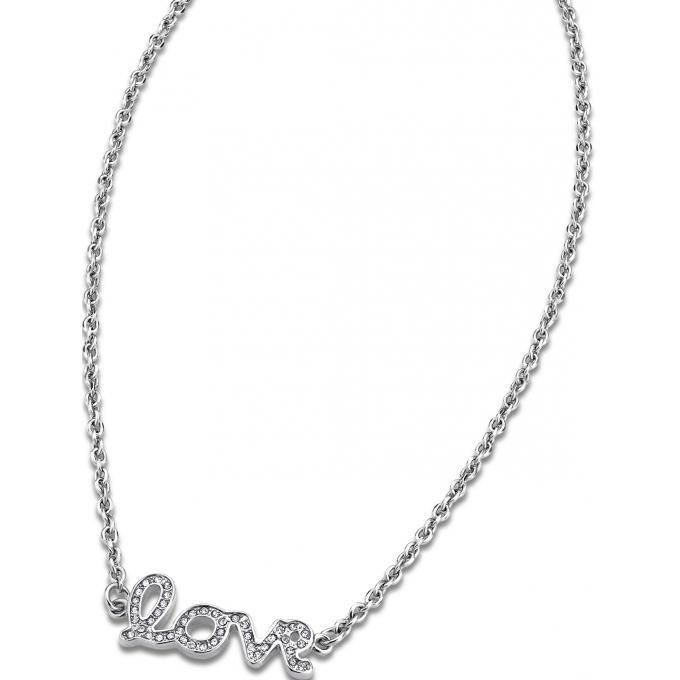 Collier et pendentif Lotus Style LS1662-1-1 - Collier et pendentif Chaîne  Love b86bcf8c813