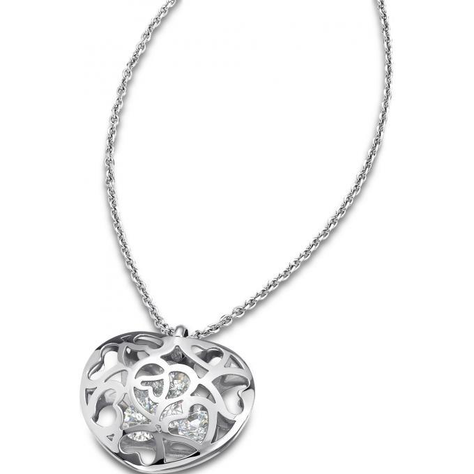 Collier et pendentif Lotus Style LS1667,1,1 , Collier et pendentif Coeur  Ajouré