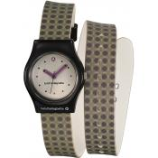 Montre Lulu Castagnette Silicone Grise 38722