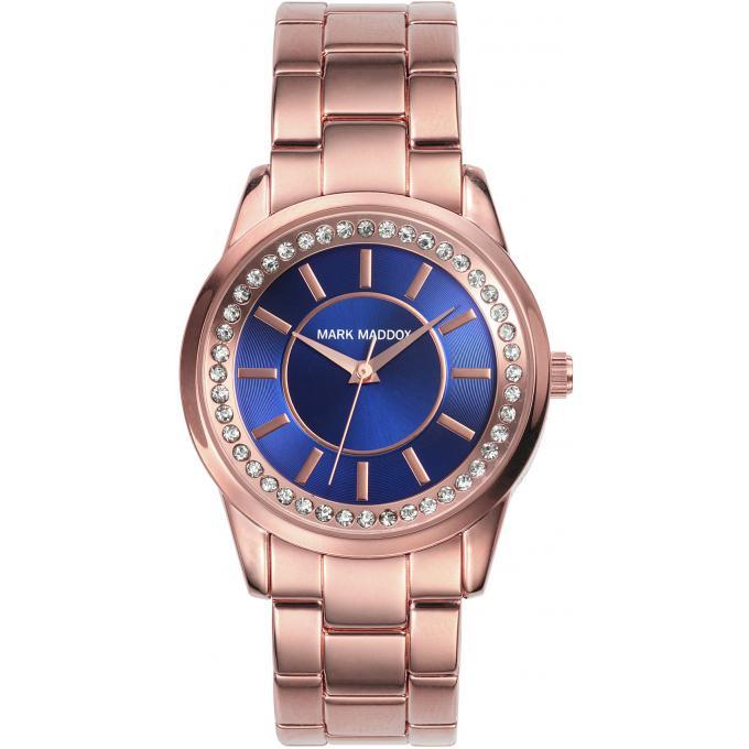 montre mark maddox pink gold mm0007 37 montre acier or rose femme sur bijourama n 1 de la. Black Bedroom Furniture Sets. Home Design Ideas