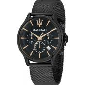 Maserati - Montre Maserati Epoca R8873618006 - Montre Homme - Nouvelle Collection
