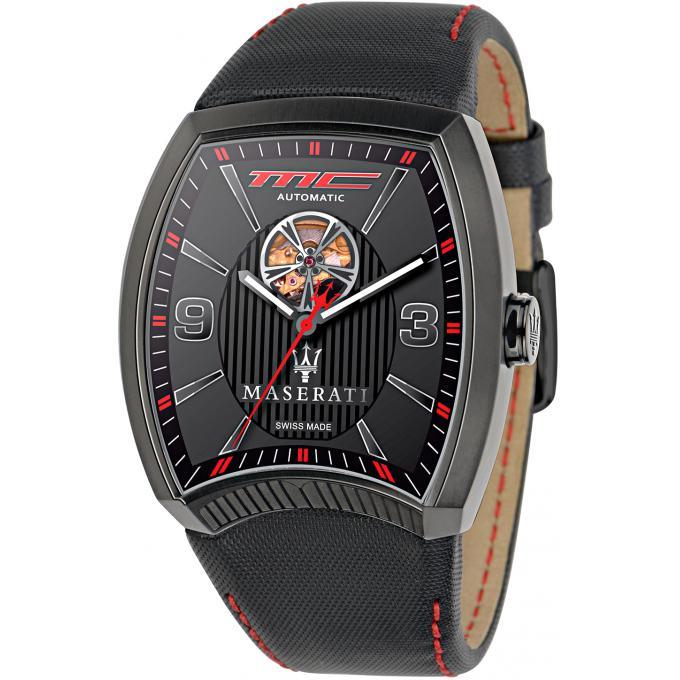 montre maserati r8821105003 montre automatique noire homme sur bijourama n 1 de la montre. Black Bedroom Furniture Sets. Home Design Ideas