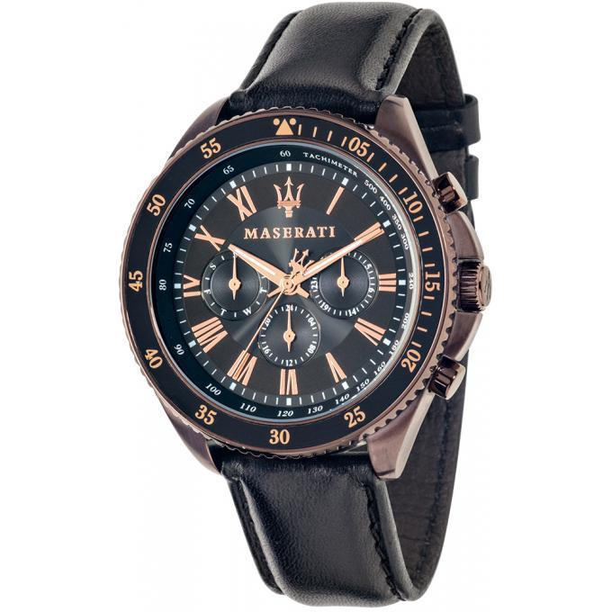 montre maserati r8851101008 montre chronographe marron homme sur bijourama n 1 de la montre. Black Bedroom Furniture Sets. Home Design Ideas