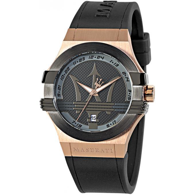 montre maserati r8851108002 montre bicolore dateur homme sur bijourama n 1 de la montre homme. Black Bedroom Furniture Sets. Home Design Ideas