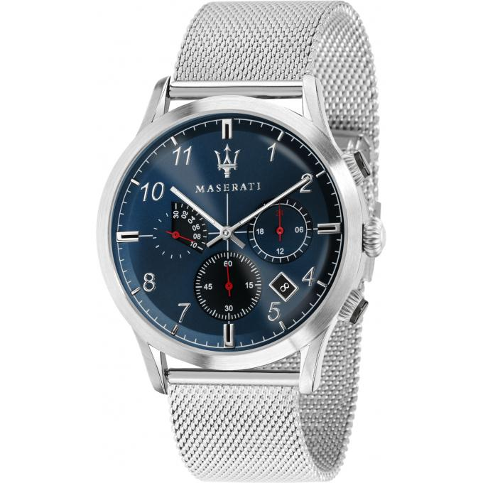 montre maserati ricordo r8873625003 montre milanaise chronographe argent homme sur bijourama. Black Bedroom Furniture Sets. Home Design Ideas