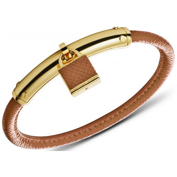bracelet michael kors mkj4293710 bracelet cuir cadenas marron femme sur bijourama r f rence. Black Bedroom Furniture Sets. Home Design Ideas