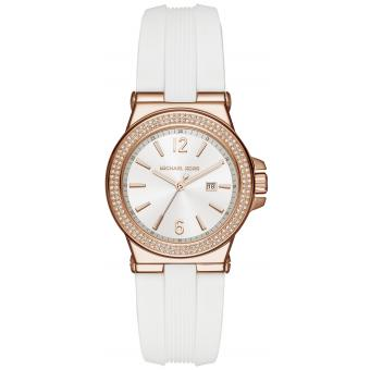 Montre Michael Kors Dylan MK2491 - Montre Silicone Blanche Femme