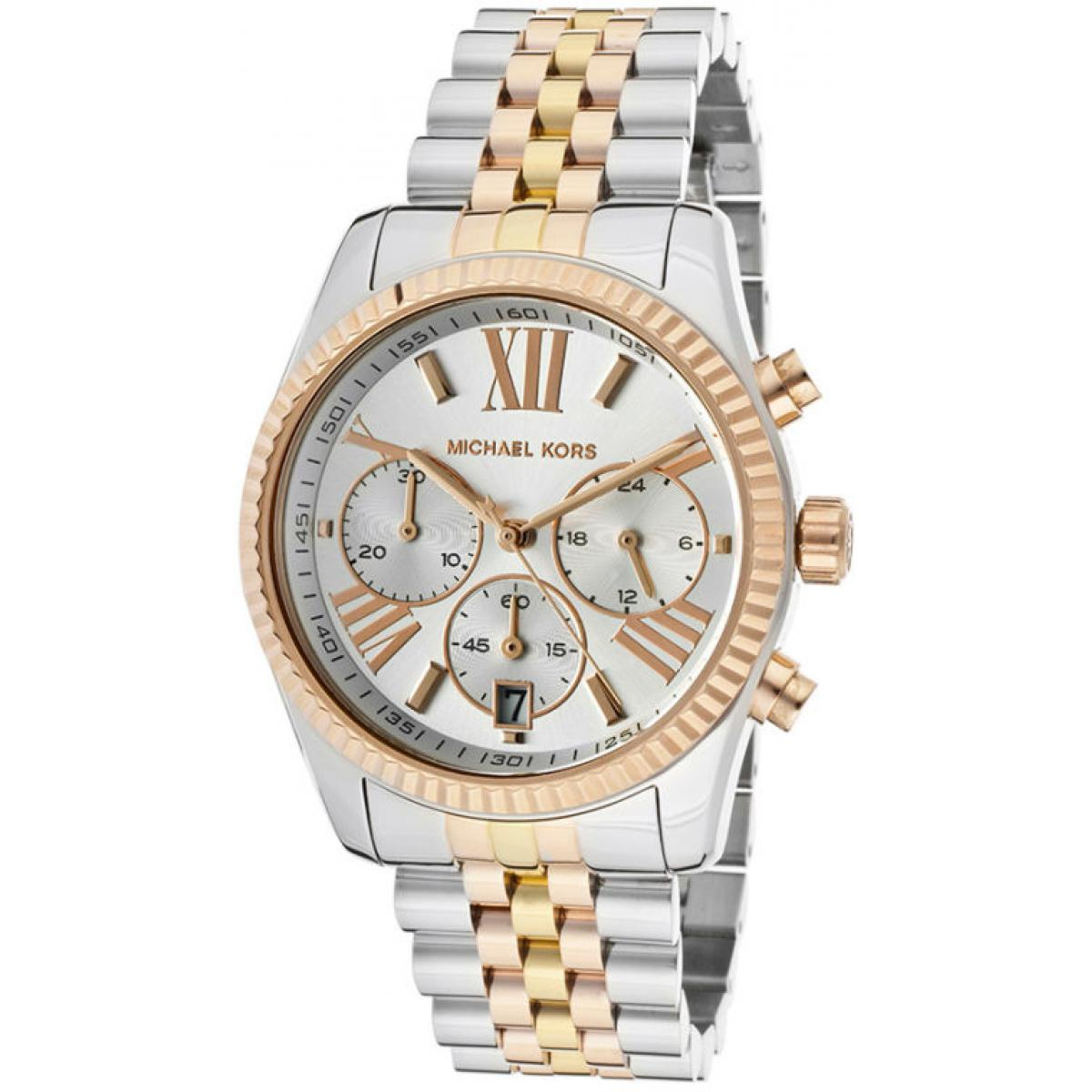 Montre Michael Kors LEXINGTON MK5735 - Montre Quartz Tricolore Mixte