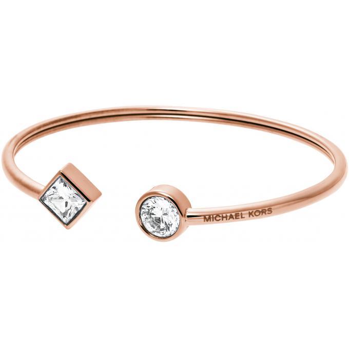 Bracelet Michael Kors MKJ4914791 , Bracelet Or Rosé Acier Femme