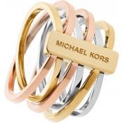 Bague Michael Kors Tricolore Acier MKJ4421998-55