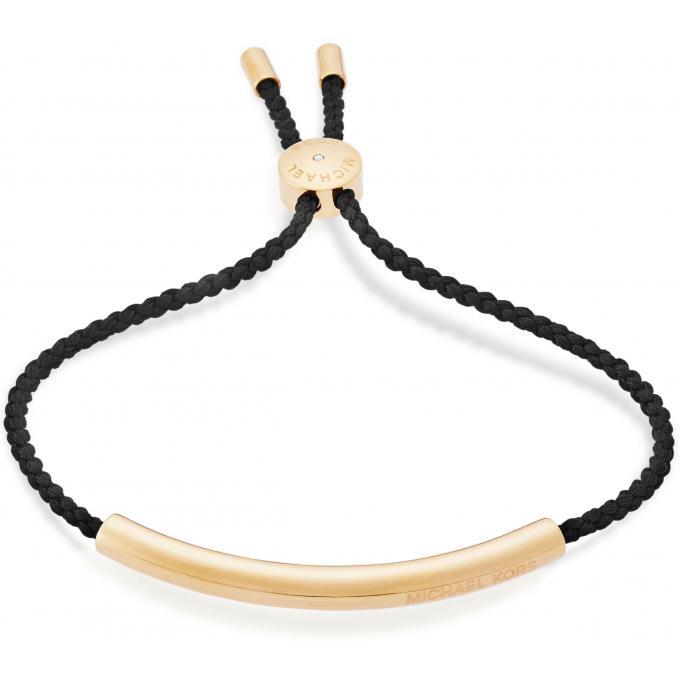 Très Bracelet Michael Kors Heritage MKJ5308710 - Bracelet Doré Cordon  RI36