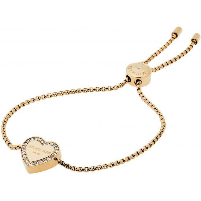 Bracelet Michael Kors Heritage MKJ5389710 , Bracelet Coeur Doré Femme