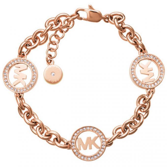 bracelet michael kors mkj4731791 bracelet cha ne or rose femme sur bijourama r f rence des. Black Bedroom Furniture Sets. Home Design Ideas