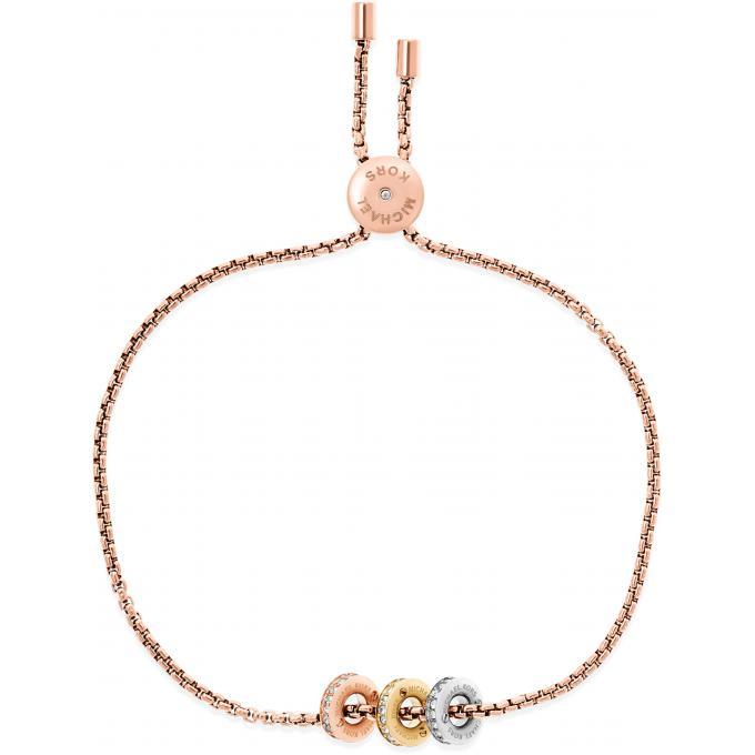 bracelet michael kors hardware mkj6338998 bracelet chaine rose femme sur bijourama r f rence. Black Bedroom Furniture Sets. Home Design Ideas