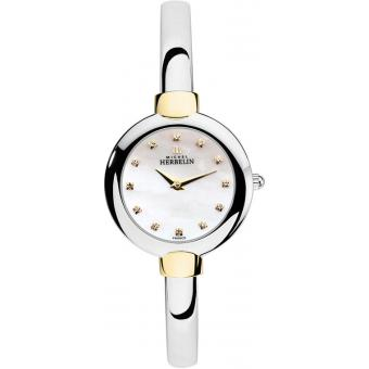 Montre Michel Herbelin Salambo 17413-BT59 - Montre Diamants Jonc Femme