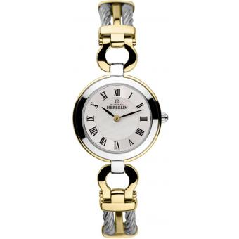 Montre Michel Herbelin 17425-BT29 - Montre Ronde Bicolore Femme