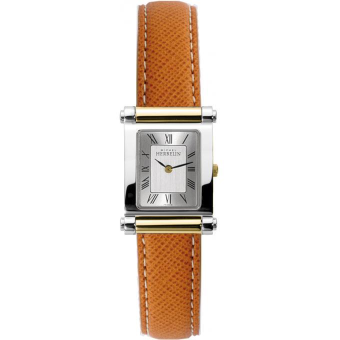 montre michel herbelin antares 17049 t01ma montre cuir camel femme sur bijourama montre. Black Bedroom Furniture Sets. Home Design Ideas