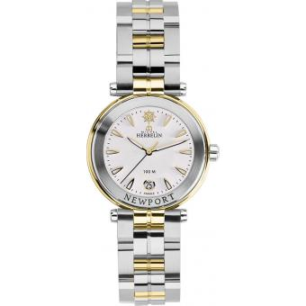 Montre Michel Herbelin Newport Yatch Club 14285-BT11 - Montre Bicolore Plaquée Femme