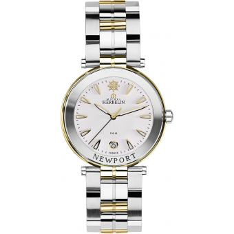 Montre Michel Herbelin Newport Yatch Club 12285-BT11 - Montre Plaquée Ronde Homme