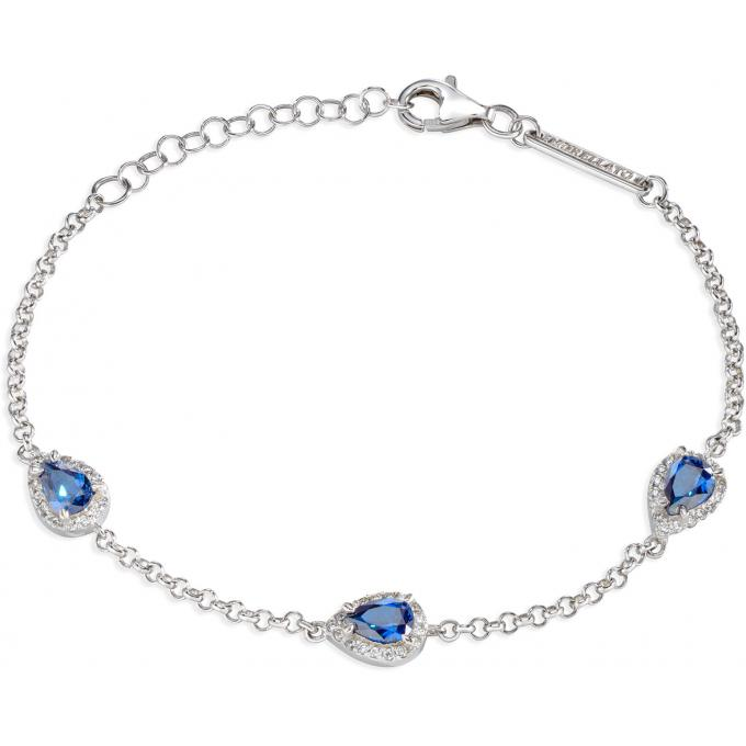 D'infos Bracelet Saiw11 Bleu Femme Plus Morellato Argent Cristaux BorxCde