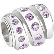 Charms Morellato Bijoux Perle Violets SCZ204