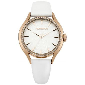 Montre Morgan M1235WRG - Montre Cuir Or Rose Femme