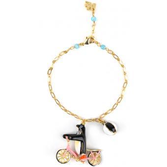 Bracelet Bicyclette Doré - N2 - N2