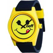 Montre NEFF Daily Watch 00C-QNF0201-75118-01 - Montre Silicone Smiley Mixte