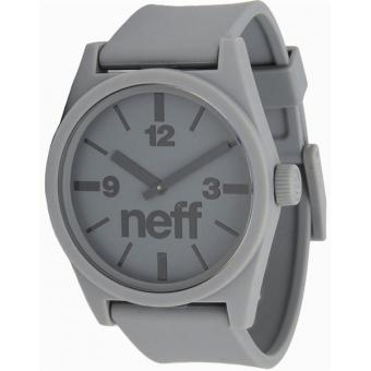 Montre NEFF Daily Watch 00C-QNF0201-W0003-01 - Montre Silicone Grise Mixte