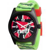 Montre Neff Silicone Pastèque 00C-QNF0208-75415-01