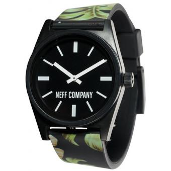 Montre NEFF Daily Wild 00C-QNF0208-75648-01 - Montre Silicone Feuilles Mixte