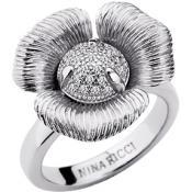 Bague Nina Ricci Bijoux Fleur Argentée 70235571108-54