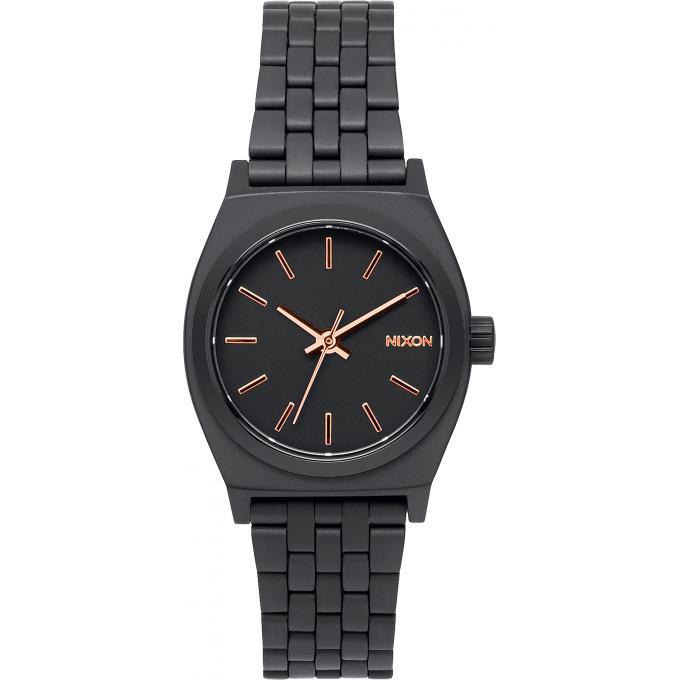 montre nixon small time teller a399 957 montre assemblage noir femme sur bijourama montre. Black Bedroom Furniture Sets. Home Design Ideas