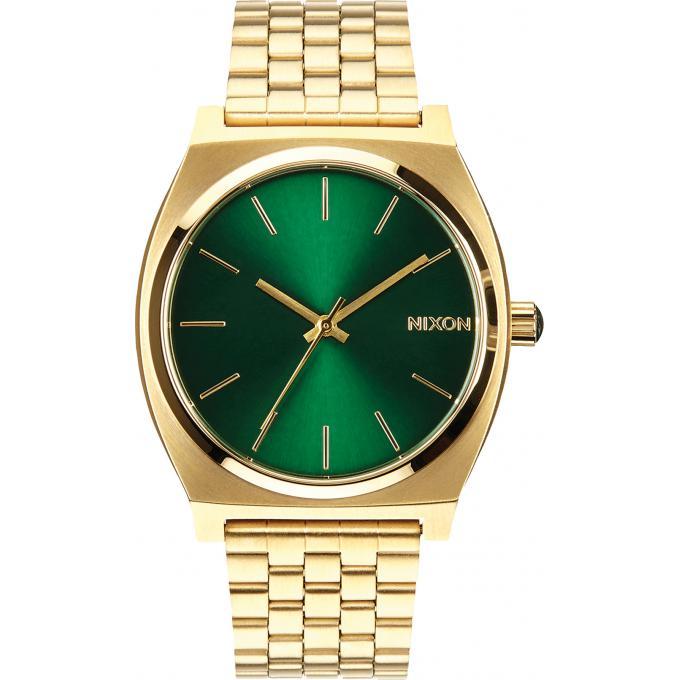Montre Nixon Time Teller A045-1919 - Montre Vert Or Homme sur ... bde4e0b25c44