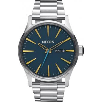 Montre Nixon Sentry A356-2076 - Montre Index Dorés Homme