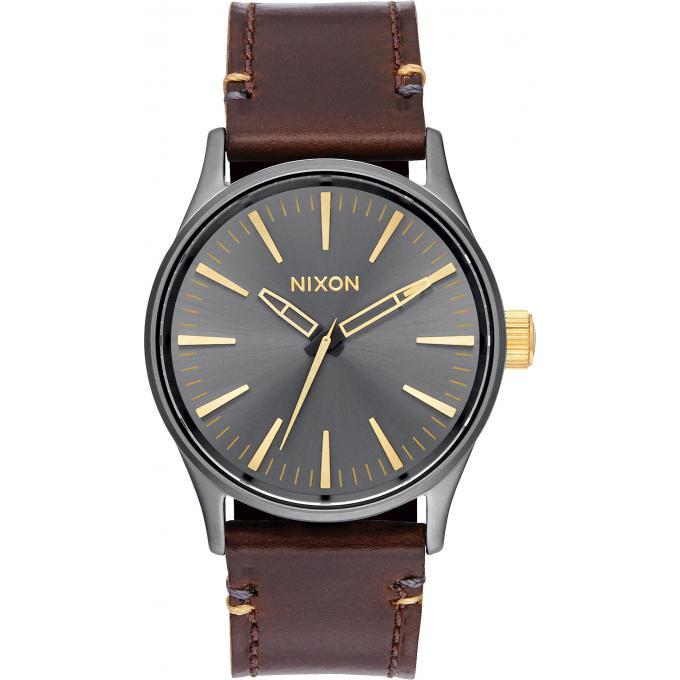 montre nixon sentry a377 595 montre cuir vintage homme sur bijourama montre homme pas cher. Black Bedroom Furniture Sets. Home Design Ideas