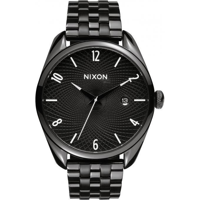 montre nixon bullet a418 001 montre acier noir homme sur bijourama montre homme pas cher en. Black Bedroom Furniture Sets. Home Design Ideas