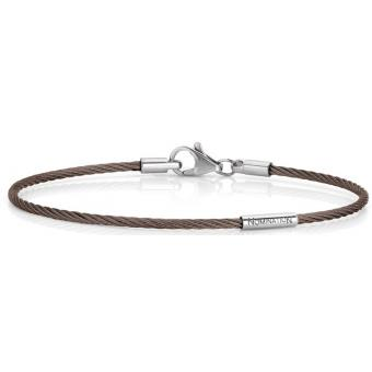 Bracelet Nomination 024145-002-028 - Bracelet Marron Médium Femme