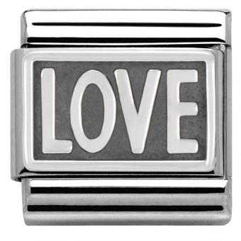 Charm Nomination Plaque 330102-03 - Charm Amour Mixte