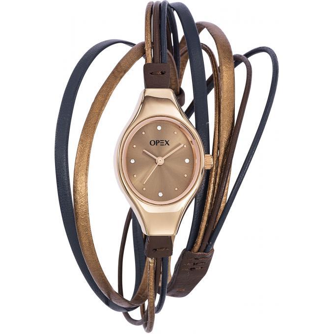 montre opex x2346la3 montre acier marron femme sur bijourama montre femme pas cher en ligne. Black Bedroom Furniture Sets. Home Design Ideas