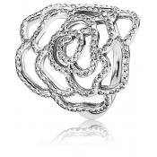 Bague Pandora Moyenne Rose Scintillante 190950CZ-48 - Bague