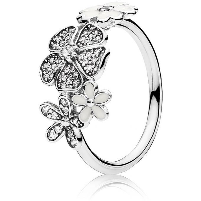 Bague Pandora 190984cz Bague Bouquet Scintillant Femme